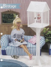 Birdcage, Annie's Fashion Doll Plastic Canvas Pattern Club Leaflet FP35-... - $8.95