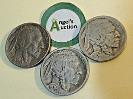 Buffalo Nickel 1936 P, 1936 D and 1936 S  AA20BN-CN6094 image 2