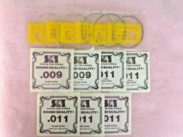 Lot of Electric Guitar Strings ~ One Complete Set & Two 9 Gauge & Five 1... - $5.94