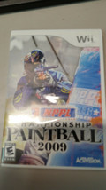 NPPL: Championship Paintball 2009 Wii Nintendo Wii With Original Case & Book - $5.45