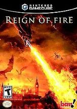 Reign Of Fire Nintendo Gamecube Video Game Comp... - $14.27