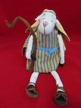 Hallmark Really Woolly Sheep JAKE Plush Shepherd 2005 Dayspring Christma... - $23.64