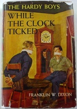 Hardy Boys While the Clock Ticked 1953A-33 no.11 hcdj Franklin W. Dixon - $12.00
