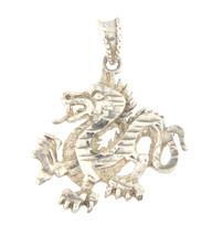 Dragon Unisex .925 Silver Charm - $29.00