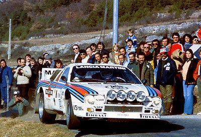 Primary image for 1983 Lancia Abarth 151 at Monte Carlo Rally - Photo Poster