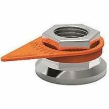 High Heat Loose Wheel Nut Indicator, 33mm, Orange - QTY 100 - $144.16