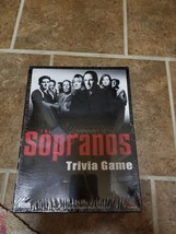 HBO's The Sopranos Trivia Board Game Collector Tin Cardinal Never Opened  - $19.00