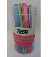 Trim Neon Salon Nail Boards in Round Display ~ 12 count - $9.69