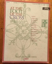 At the Foot of the Cross piano vocal guitar music sheet song book Amy Grant - $28.04