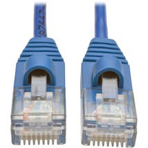Tripp Lite 4ft Cat5e Cat5 Snagless Molded Slim UTP Patch Cable RJ45 M/M Blue 4 - - $21.36