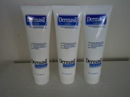 3 Tubes White Dermasil Dry Skin, Skin Lipid & EFA Treatment Lotion. 10FL. - $15.84