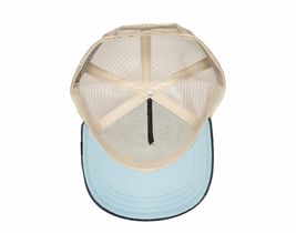 Goorin Bros Animal Farm Snapback Mesh Cap Navy Denim Racoon Bandit Trucker Hat image 4