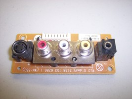Phillips Magnavox LCD37 (37MF231D/37) : AV Input Board 3138 103 6286.1 {... - $9.68