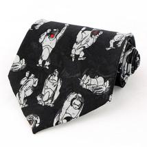 Gorilla Moods Mens Necktie Animal Black Neck Tie Cartoon Apes Gorillas G... - $15.79