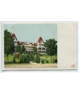 Hotel Weirs Lake Winnipesaukee New Hampshire 1907c postcard - $6.88