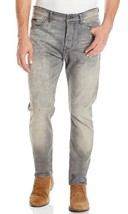 Calvin Klein Men's Jeans Tapered Light Used Jeans,33WX32L, Dark Wash - $58.40