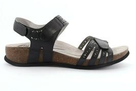 Abeo Bijou Sandals Black Women's Size 5 Neutral Footbed (EPB ) - $91.62