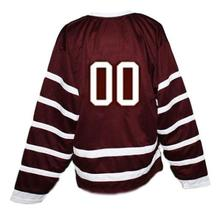 Custom # Montreal Maroons Retro Hockey Jersey New Maroon Any Size image 2