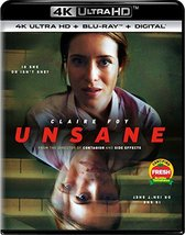 Unsane  [4K Ultra HD+Blu-ray+Digital, 2018]