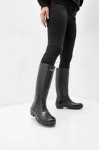 Polo Ralph Lauren Black Women's Julie Crocodile Rain Boot, 9B, NWOB - $99.00