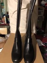 NWB! Michael Kors Fulton Tall Riding Boot Women's Boots Black Size: 7.5M - $225.00