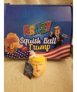 President Donald Trump Krazy Squish Ball - Squeeze it, Toss it - MAGA - $5.89