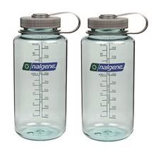 Nalgene 32oz Tritan Widemouth Water Bottles, Set of 2 Seafoam Water Bottles - $453,85 MXN