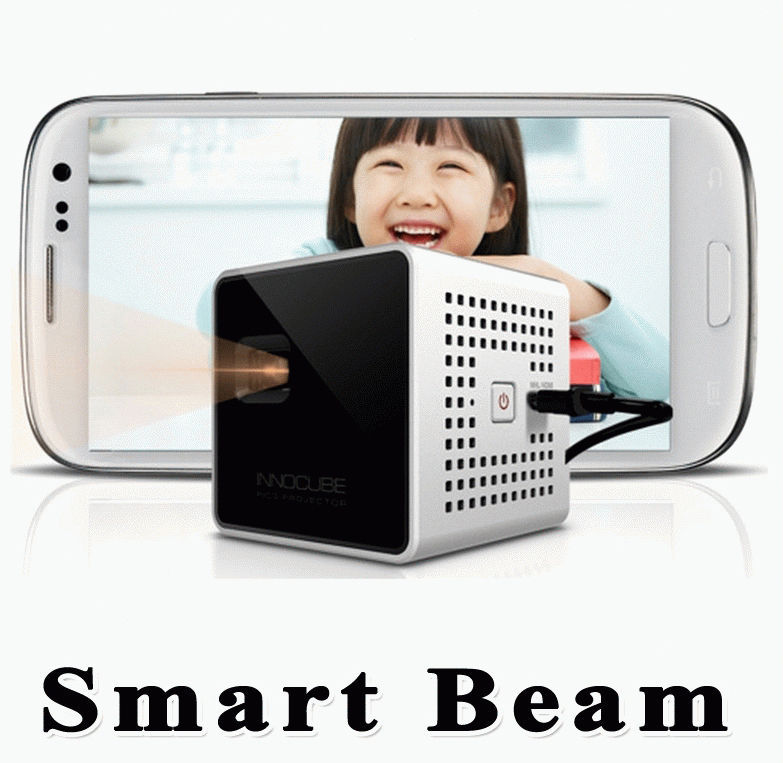 SK Smart Beam MHL HDMI Mini Portable Projector Home Theater for Galaxy iphone