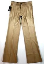 new ADIDAS men golf pants Climalite beige khaki 36 MSRP $80 - $36.62