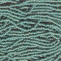 Seed bead rocaille full hank green   11  thumb200