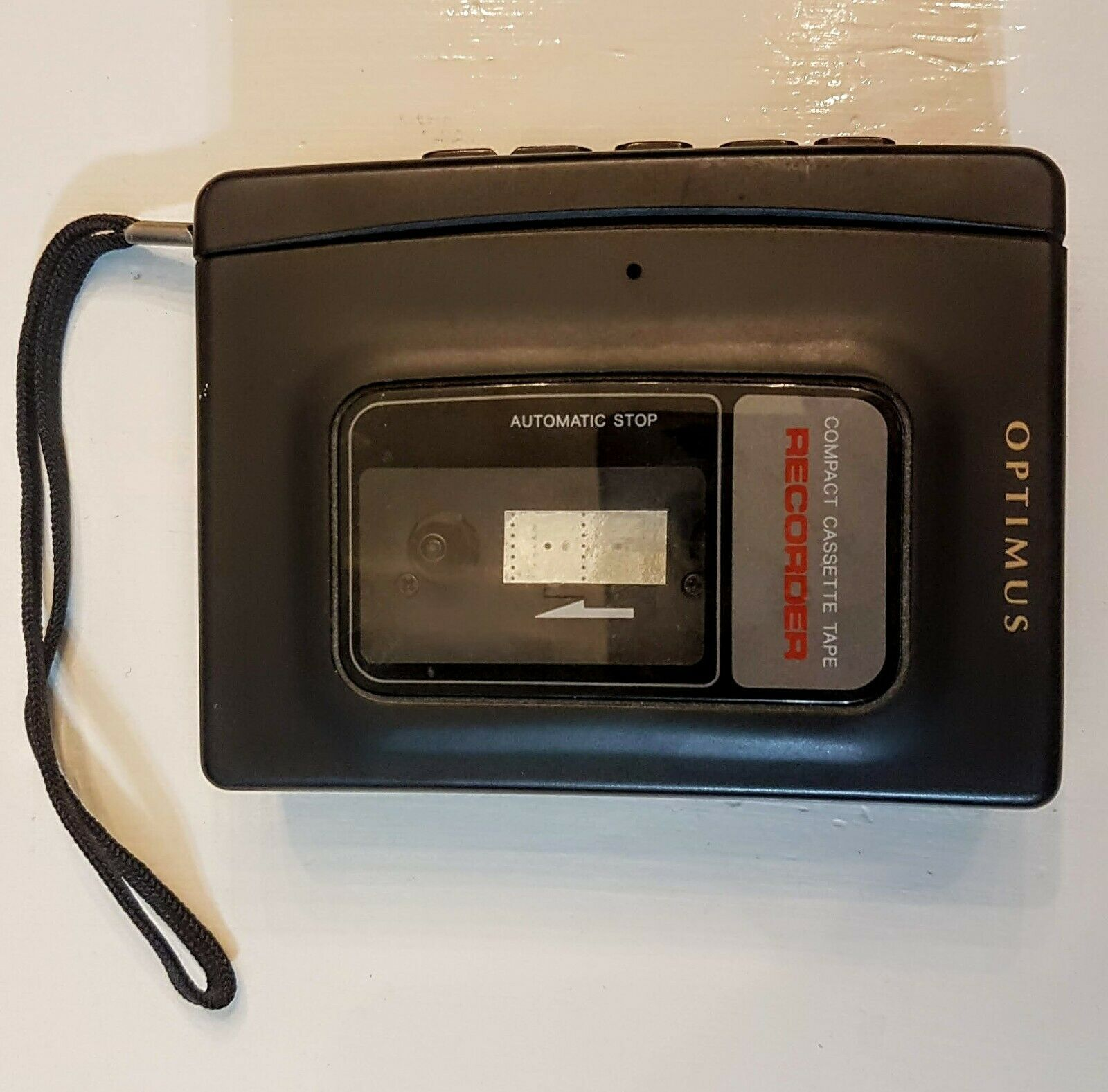 Primary image for Optimus Compact Cassette Tape Recorder Radio Shack Walkman Style CTR-105 works