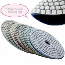 "5"" Diamond Polishing Pad Grit 15 (70 Pieces) stone concrete marble trave... - $197.00"