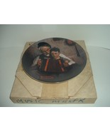 Edwin Knowles Norman Rockwell The Music Maker plate with box 1981 - $18.99