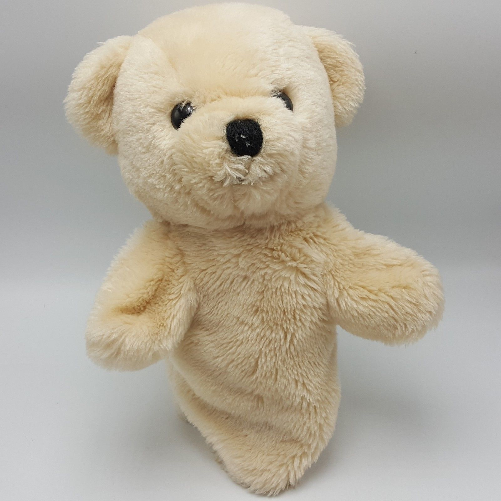 Primary image for Dakin 1984 Teddy Bear Hand Puppet Beige Plush 11""