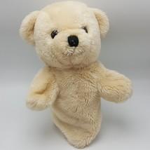 "Dakin 1984 Teddy Bear Hand Puppet Beige Plush 11"" - $13.85"