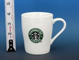 Collectible Starbucks Porcelain Coffee Mug 8oz 2007 White Logo Mug