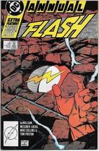 The Flash Comic Book 2nd Series Annual #2 DC Comics 1988 NEAR MINT NEW U... - $3.99