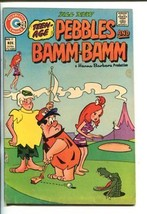 TEEN AGE PEBBLES AND BAMM-BAMM- #17-1973-CHARLTON-UNUSUAL GOLF COVER-vg/fn - $44.14