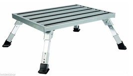 Adjustable Folding Platform Stool Leg Portable Potty Kitchen Home Camper... - $93.05