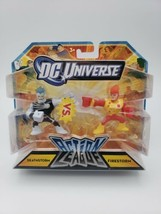 "DC Universe Action League DEATHSTORM & FIRESTORM 2"" Justice League MATTE... - $24.74"