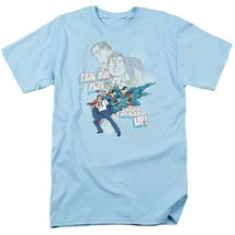 Superman t shirt dc comics book batman superhero retro blue cotton dco305 thumb200