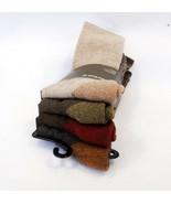 TIMBERLAND Men's Socks COMFORT CREW 4 Pairs Cushioned Cotton Blend - New! - $21.95