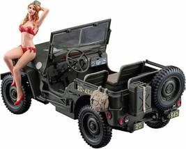 Hasegawa 1/4 Ton 4x4 Utility Truck (Jeep) Plastic Model Kit w/ Blond Gir... - $61.38