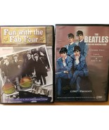 Lot of 2 Beatles dvd FUN WITH THE FAB FOUR / A LONG AND WINDING ROAD - $4.99