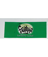 RARE Fruitopia Kiwiberry Ruckus Discontinued Soda Soft Drink Tag Sign Label - $12.85