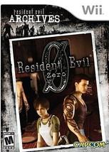 Resident Evil Zero Resident Evil Archives (Nintendo Wii) - $11.88