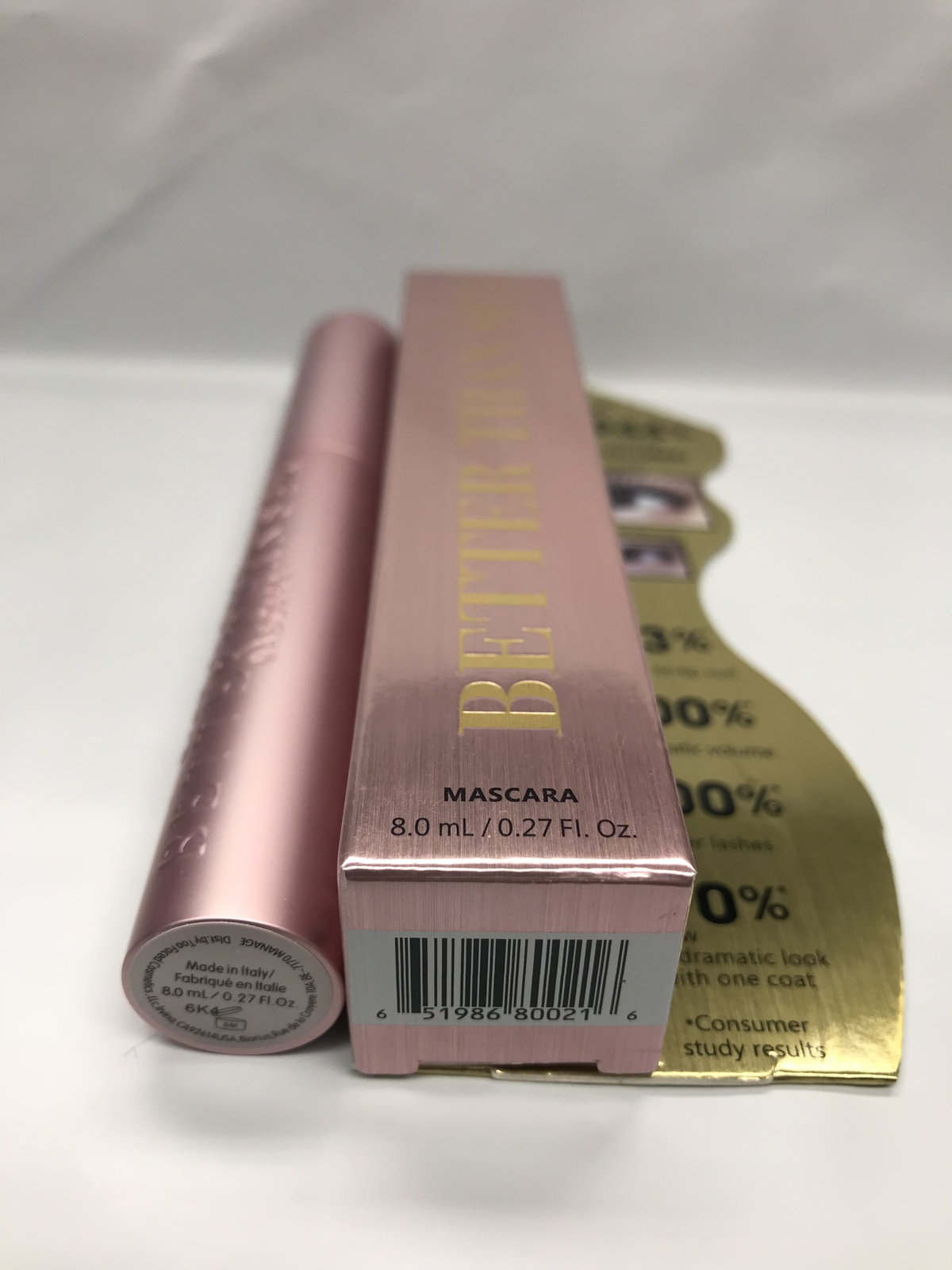 Too Faced - Better Than Sex Mascara, Black- Full Size- 0.27 Fl. Oz BRAND NEW BOX