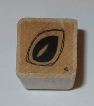 Leaf Rubber Stamp Close To My Heart Wood Mounted Leaves Flowers Garden - $3.65