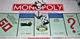 Monopoly - Parker Brothers Real Estate Trading Game (1996) Board Game - $11.95