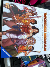 DC Wonder Woman Challenge of The Amazons Board Game Ravensburger **NO BOARD** - $29.21